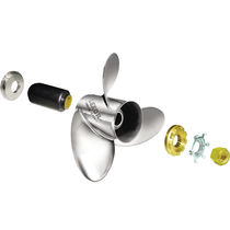 outboard and sterndrive propeller for boats (3 blades, stainless steel) RUBEX L3 / L3 PLUS / NS3 SOLAS Propellers