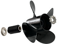 outboard and sterndrive propeller for boats (4 blades, aluminium) 135-300+HP Turning Point Propellers