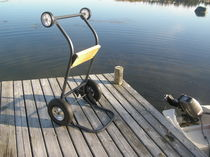 outboard motor trolley  Brunco