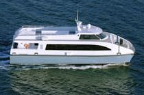 passenger ferry : catamaran (shipyard) 72′ YORK  All American Marine