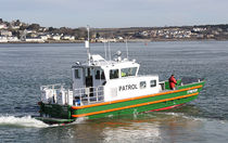 patrol-boat (jet propulsion) ALN 092 - WAVE LANDER Alnmaritec