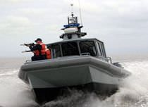 patrol-boat : power catamaran (aluminium) M2-33 Moose Boats, Inc.