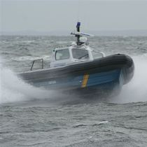 patrol-boat : rigid inflatable boat (in-board, with enclosed cockpit) MRCD1250 Offshore Patrol Boat Madera Ribs