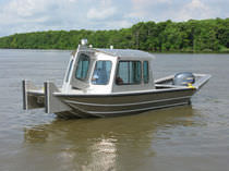 patrol-boat (aluminium) 20' LONG X 6' BOTTOM Scully's Aluminum Boats