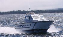 patrol-boat : express-cruiser (aluminium) 32' DJ HARBOUR PATROL ABCO Industries Limited