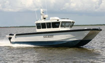 patrol-boat : power catamaran CALACSIEU PARISH SHERIFF�S DEPARTMENT Geo Shipyard