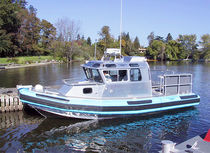 patrol-boat : rigid inflatable boat (in-board, cabin) 27 FOAM HYBRID Northwind
