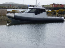 patrol-boat : rigid inflatable boat (in-board, hydrojet, with enclosed cockpit) 7.5M Flugga Boats