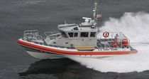 patrol-boat : rigid inflatable boat (in-board, with enclosed cockpit) RB-M Kvichak Marine Industries, Inc.
