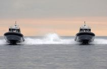 patrol-boat : rigid inflatable boat (in-board, with enclosed cockpit) 12.00 WJ PATROL Ufast