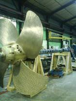 pitch propeller for ships (custom-made, controllable)  Masson Marine