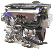 pleasure boat engine : in-board diesel engine 100 - 200 hp (common-rail, turbocharged) FNM - HPE 110 Fnm Marine - CMD
