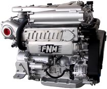 pleasure boat engine : in-board diesel engine 200 - 300 hp (common-rail, turbocharged) FNM HPE 300 Fnm Marine - CMD