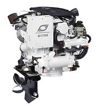 pleasure boat engine : in-board diesel engine 100 - 200 hp (stern-drive, piezo common-rail, variable geometry turbocharger) D170S (170 HP @ 3800 RPM) Hyundai Seasall France