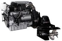 pleasure boat engine : in-board diesel engine 200 - 300 hp (common-rail, variable geometry turbocharger) FNM HPEP 250 Fnm Marine - CMD