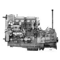 pleasure boat engine : in-board diesel engine 60 - 70 hp (indirect injection, natural aspiration) 4LW (62 HP @ 1500 RPM) Gardner Marine Diesels