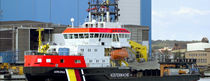 pollution control vessel : oil spill recovery vessel (shipyard) 895 DWT P S WERFTEN