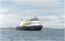 pollution control vessel : oil spill recovery vessel (shipyard) 41.85 m Marsun Company