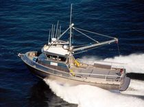 pollution control work-boat : oil spill recovery boat 46' SKIMMER Rozema Boats Works