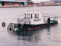 pollution control work-boat (backhoe dredger) MK. 3 Water Witch Workboats
