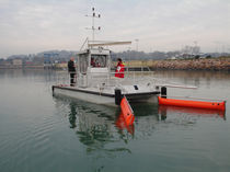pollution control work-boat : catamaran CG92 ECOCEANE  CATAGLOP
