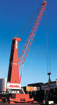 port crane: luffing jib crane (rubber tired)  Gottwald Port Technology