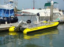 power catamaran : rigid inflatable boat (work-boat, outboard) 18 Wing Inflatables