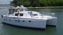 power catamaran : express-cruiser TRAWLERCAT 44 Endeavour