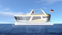 power catamaran : express-cruiser 11,5 SD Advanced-Cat-Yachts, Kaptn.Klaus Iwan
