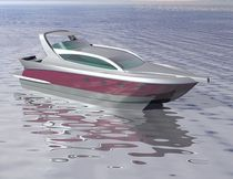 power catamaran : flybridge express-cruiser (ocean cruising) MC 40 Motorcat
