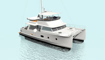 power catamaran : flybridge trawler BAMBA 42' BambaYachts