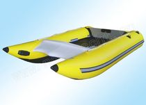 power catamaran : foldable inflatable boat (outboard) RH-001/420 Weihai Noahyacht Co.