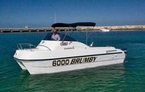 power catamaran : in-board cabin-cruiser 6000 BRUMBY LeisureCat