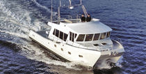 power catamaran : luxury flybridge motor-yacht (aluminium) 55′ IKE  All American Marine
