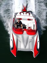 power catamaran : offshore power-boat (outboard) 22 Eliminator