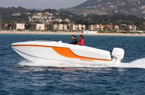 power catamaran : outboard center console boat OPENCAT 23 Yachts Composites