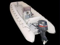 power catamaran : rigid inflatable boat (outboard, center console) PRESTIGE RANGER 400 Asso-Prestige