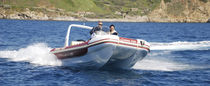 power catamaran : rigid inflatable boat (outboard, center console, roll-bar) CRUISE 730 Asso-Prestige