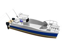 power catamaran : sport-fishing center console boat MC 30 FISHER Motorcat