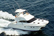 power catamaran : sport-fishing flybridge express-cruiser CD533 Incat Crowther