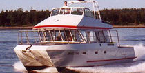 professional fishing-boat : catamaran 37' REEL TIME All American Marine