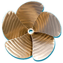 propeller for yachts and ships (custom-made)  BT Marine Propellers
