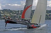 racing catamaran (sailboat) DECISION 35 Décision