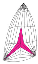 racing-cruising sail : asymmetric spinnaker  ROLLY TASKER SAILS