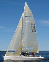 racing keelboat sail : jib (one-design) MELGES 24 WB-Sails