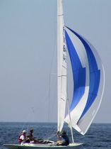 racing keelboat sail : spinnaker (one-design) DRAGON WB-Sails