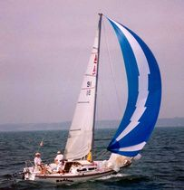 racing keelboat sail : mainsail (one-design) CAPRI 25 Haarstick