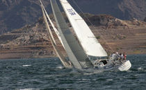 racing sail : genoa  Yager Sails