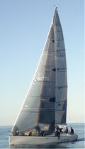 racing sail : headsail  Haarstick