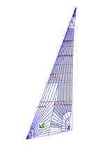 racing sail : headsail NO.4 Lidgard Sailmakers